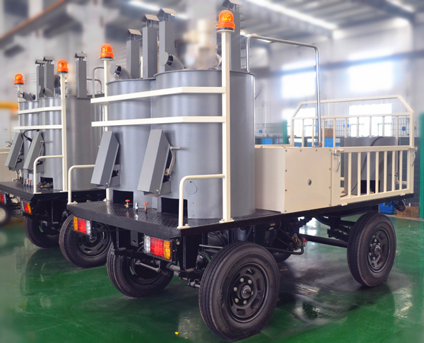 DY-FHDP Four-wheel Model Hydraulic Double-cylinder Pre-heater