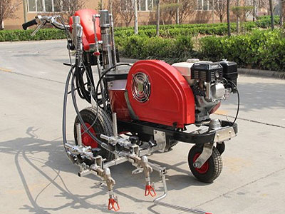 DY-HAL-I/II Hand-push Cold Paint Road Marking Machine