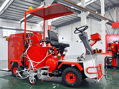 DY-SSAL Driving Type Cold Paint Road Marking Machine