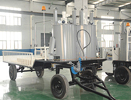 DY-THDP Trailer-type Moble Hydraulic Double-Cylinder Pre-Heater
