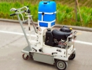 thermoplastic road line removal machine