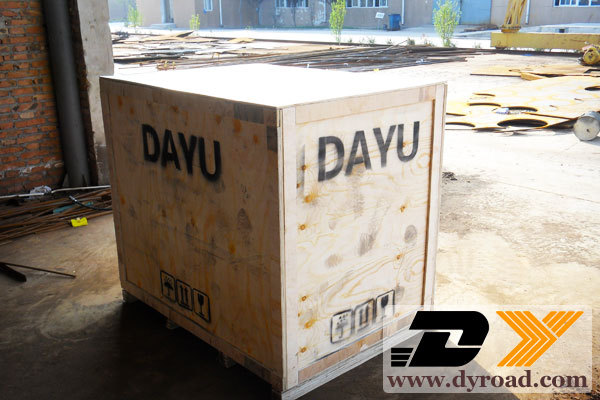 DY-HPT road lines coating machine shipment
