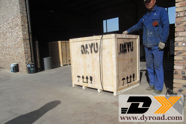 DY-HPT Pedestrain Painting Machine Packed