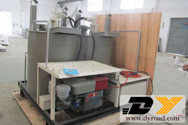 DY-HPT Road Marking Machine and Paint Pre-heater to Sri Lank